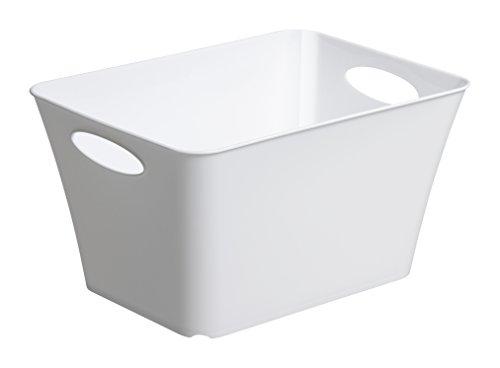 Rotho-Allzweckbox-Living-aus-Kunststoff-universell-einsetzbar-als-Aufbewahrungsbox-in-Kinderzimmer-Bro-Bad-Wohnzimmer-etc-11-l-ca-355x26x192-cm-LxBxH-wei-auch-andere-Farben-verfgbar