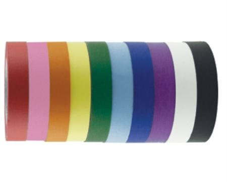 10/Pk. 1'' Asst. Colors Masking Tape