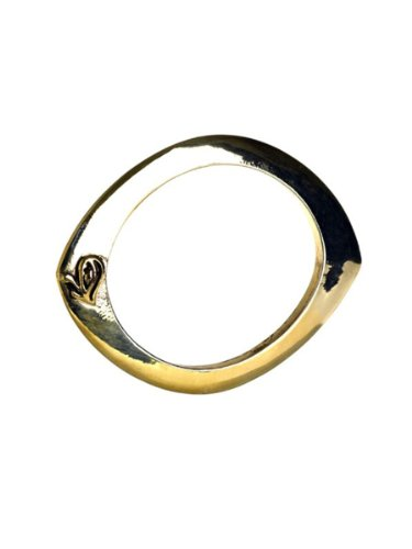 Belle Noel By Kim Kardashian Evil Eye Bangle - Gold