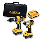 DRILL TWIN PACK 18V LI-ION QTY: 1