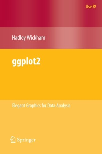 ggplot2: Elegant Graphics for Data Analysis (Use R!), by Hadley Wickham