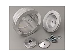 March Performance 6170 V-Belt Pulley Set for Small Block Chevy Engine