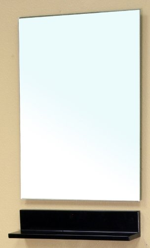 Bellaterra Home 203145-Mirror Mirror Wood Frame, Espresso front-41399