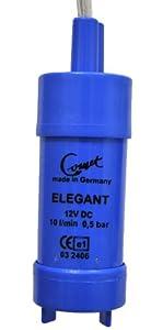 Comet Tauchpumpe Elegant - Durchlauf 10 l/min / Druck 0,5 bar / Spannung 12 Volt by Comet