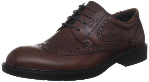 ECCO Shoes Men's Atlanta Cognac Lace Up 61012401053, EU 45