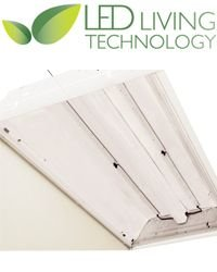 Led Living Technology C24N2L40 Led Retrofit Kit For 2X4 2-Lamp Fluorescent Troffer Claris 30W On/Off Control - 4000K