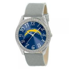 Ladies Jewelry NFL San Diego Chargers Glitz Silver Watch by NFL