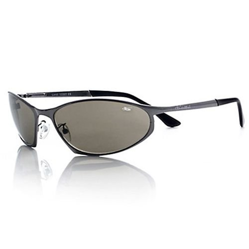 Bolle Fusion Limit Sunglasses,Shiny Gunmetal/Polarized TNS Gun