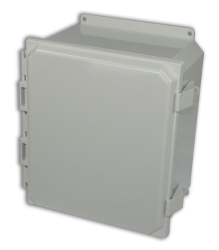 Allied Moulded Amp1206Nlf Polyline Series Polycarbonate Jic Size Junction Box, Light Gray