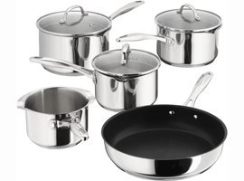 Stellar 7000 5 Piece Induction Pan Set (S7C1D)