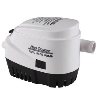 Marine Automatic Bilge Pump 12v 600gph for Boat, Caravan, Rv - Five Oceans