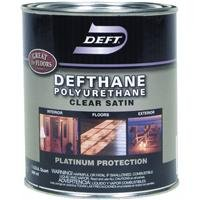 Deft Defthane Interior Exterior Clear Polyurethane Satin, Quart (Exterior Wood Sealer compare prices)