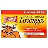 COVONIA COUGH LOZENGES STRONG OIGINAL SUGAR FREE 30 G - 30G
