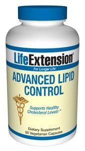 Life Extension Advanced Lipid Control 60 vegetarian capsules ( Multi-Pack)