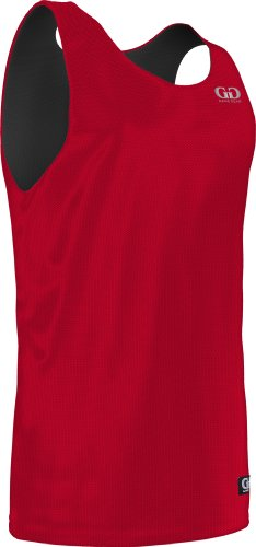 MM993 Men's Tank Top Nylon Micromesh Athletic Reversible Sports Jersey