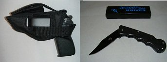 S & W 4506 Gun Holster, New, Hunting, Target, Law Inforcement, Security 301,Free Shipping, Comes With A Free Folding Knife