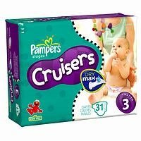 Pampers Cruisers Original Diapers - Size 3 - 31 Ct