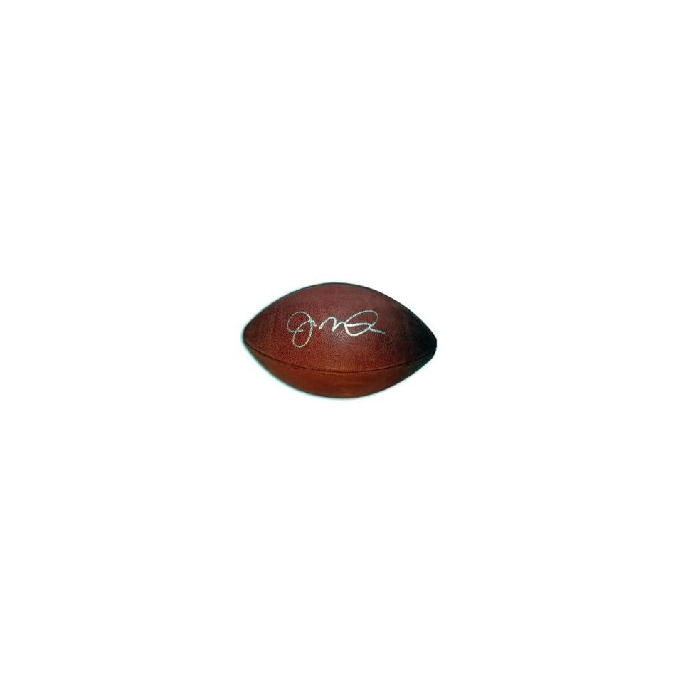 Joe Montana Signed NFL Football Sports Collectibles