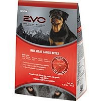 Evo red meat large bite dry dog food gt large breed dog food for Evo red meat dog food