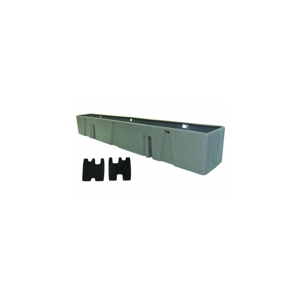 Du Ha 10059 Chevrolet/GMC Behind Seat Storage Console Organizer   Light Gray
