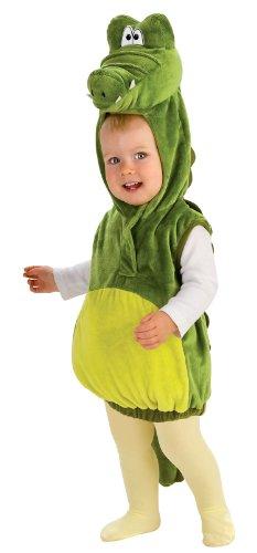 Rubie'S Costume Deluxe Baby Cutie Crocodile Costume, Green, 6-12 Months