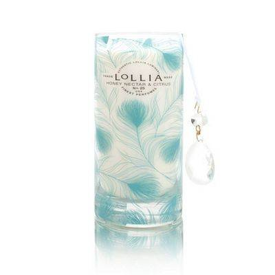 Lollia Calm Nector CitrusTall Luminary Candle-15.25