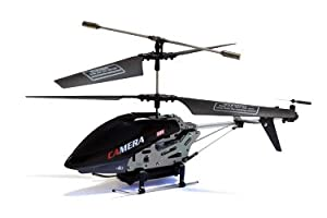 UDI U813C 3 Channel Infrared Metal RC Helicopter w/ Video Camera