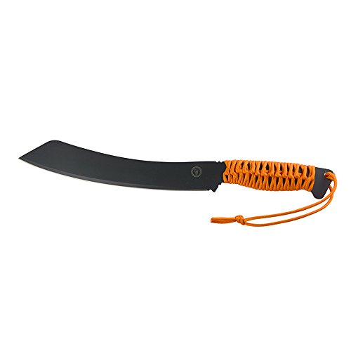UST ParaParang FS Fixed Blade Camping Knife, Orange