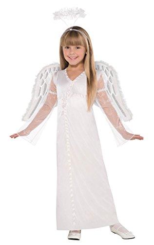 [Children's Heavenly Angel Costume Size Medium (8-10)] (Childrens Angel Costumes)