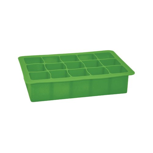 green sprouts Silicone Freezer Tray, Green