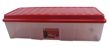 artifical christmas tree box clearred 14h x 5212w x 2012d review - Christmas Tree Storage Box