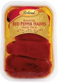 Roland Roasted Red Pepper Halves Fresh Pack (8.3 Oz)