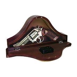Gun Concealment Mantel Clock