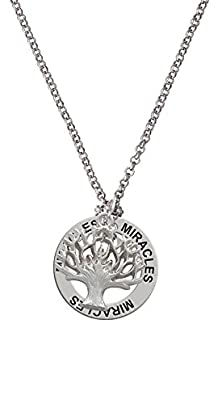 buy Tree Of Life - Miracles Affirmation Necklace