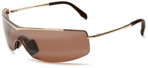 Review maui jim h511 16 gold sandbar rectangle sunglasses for Maui jim fishing glasses