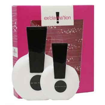 Exclamation Gift Set Perfume by Coty for Women.