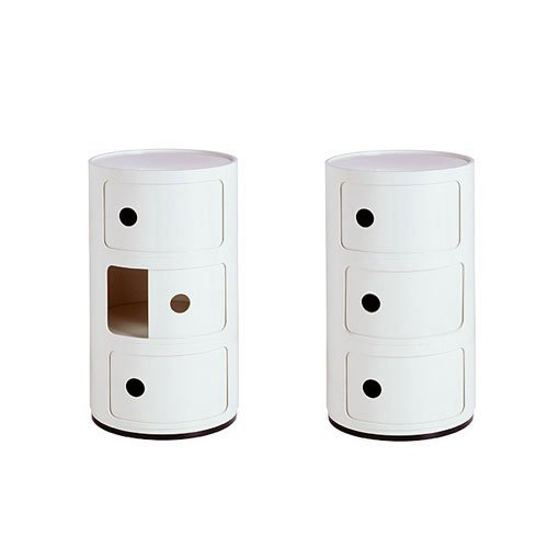 Kartell Componibili 3 Element, White