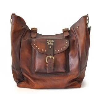Amazon.com: Pratesi Italian Leather Talamone Borsa Donna Ladies