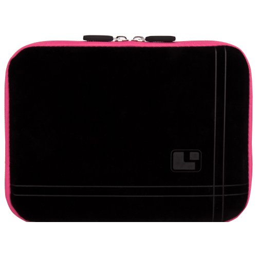 8 Inch Tablet Case New York Pink Neoprene Bubble Padded Zippered Sleeve (Fits the Barnes and Noble Nook Color, Simple Touch, Tablet, and Touch)