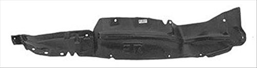 OE Replacement Nissan/Datsun Pickup Front Passenger Side Fender Inner Panel (Partslink Number NI1249103) (Datsun Hubcaps compare prices)