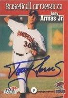 Tony Armas Jr. Jupiter Hammerheads - Expos Affiliate 1999 Team Best Baseball America... by Hall of Fame Memorabilia