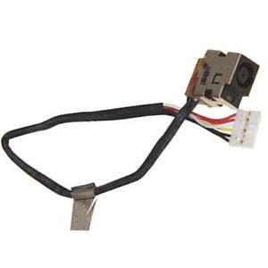 New DC Power Jack Cable For HP Pavilion DV6 DV6T DV6Z DV6-1030US DV6-2157SB Series 533465-001 665280 001 main board for hp pavilion dv6 dv6 6000 laptop motherboard socket fs1 ddr3 ati hd6490 55 4ri01 191g