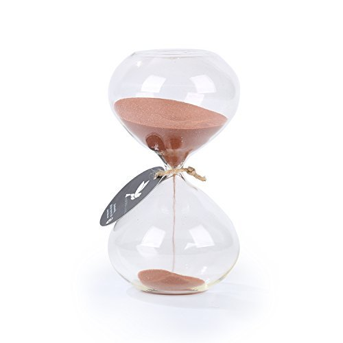 biloba-6-inch-puff-sand-timer-hourglass-30-minutes-copper-color-sand-inspired-glass-home-desk-office