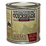 The Army Painter Quickshade Miniature Varnish for Miniature Painting, Strong Tone (250 ml) (Color: Strong Tone)