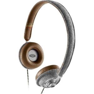 House Of Marley Em-Jh041-Sd Harambe On-Ear Headphone W/ Mic 3.5Mm 1Btn Controller Saddle
