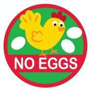 Allergy Alert Labels - No Eggs- Set of 20 by Allergy Alert