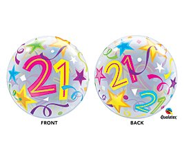 21st Bubble Balloon