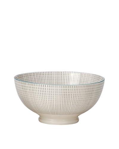 "Torre & Tagus Grey & Blue 8"" Kiri Bowl"