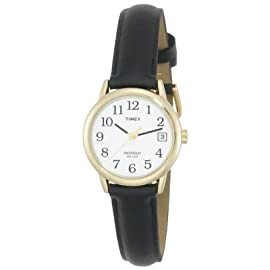 Timex Women's Easy Reader Brown Leather Strap Watch - T2H341