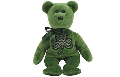 Ty Beanie Babies 2.0 Luckier:  St. Patrick's Day bear - 1